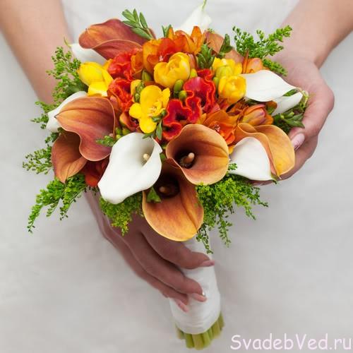 4 цветовые схемы для вашей свадьбы