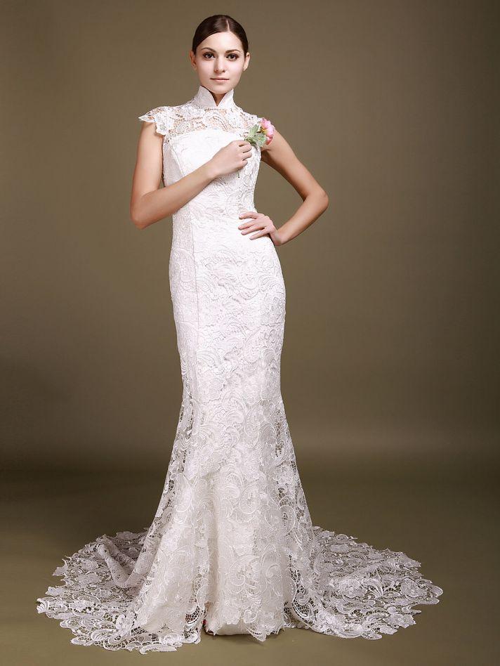 Кружевное свадебное платье. Тренды и направления в Свадебной моде 2014-2015