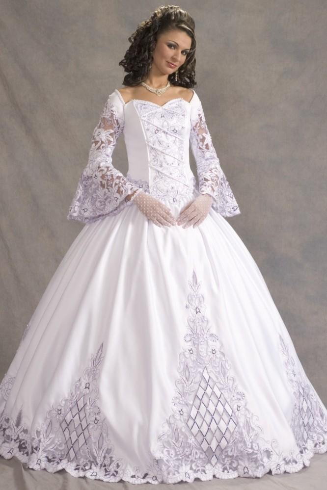 Пышное кружевное свадебное платье. Тренды и направления в Свадебной моде 2014-2015