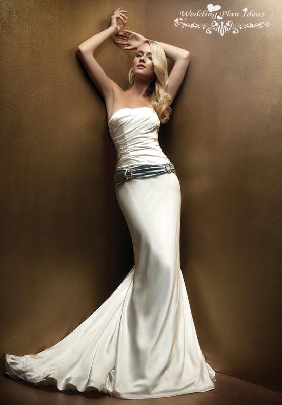 Свадебное платье в стилеВолна и Русалка. Тренды и направления в Свадебной моде 2014-2015