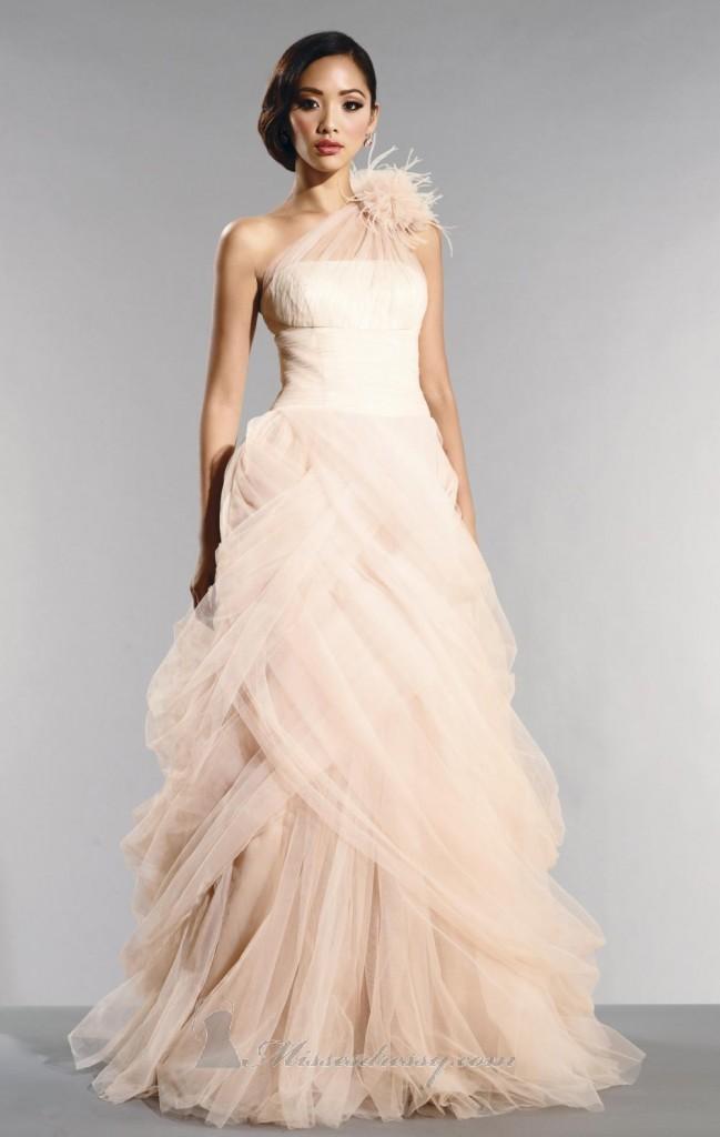 Свадебное платье с драпировкой. Тренды и направления в Свадебной моде 2014-2015
