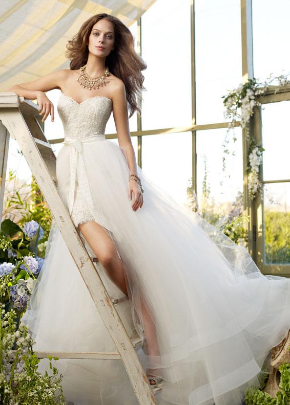 Свадебное платье с юбкой из фатина. Тренды и направления в Свадебной моде 2014-2015