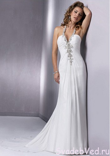 """Свадебное платье """"Колонна"""""""