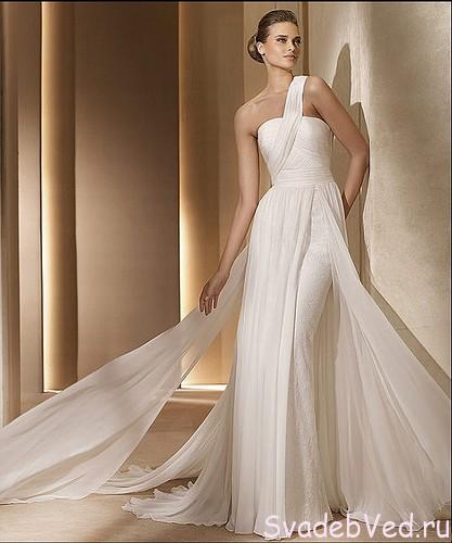 """Свадебное платье """"Ножны"""""""