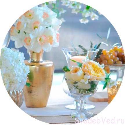 Свадебный букет невесты Апреля