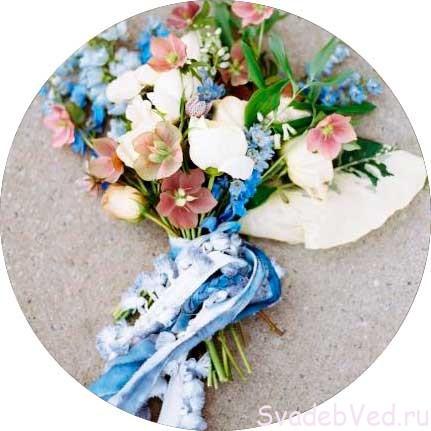 Свадебный букет в Феврале
