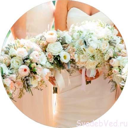 Свадебные цветы в Июне