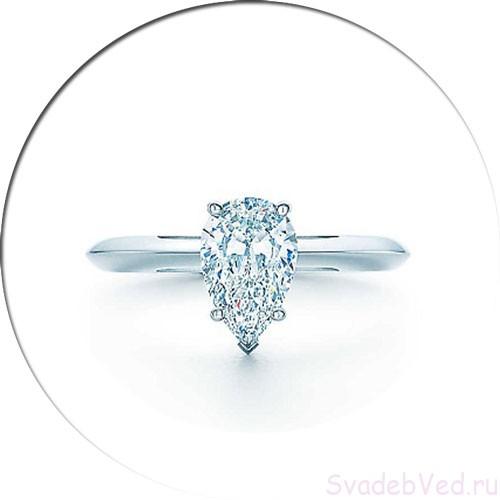 Форма кольца Груша