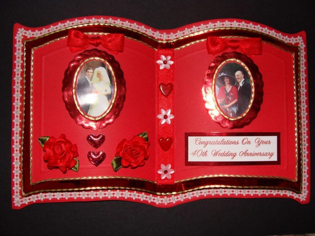 Рубиновая свадьба – что подарить юбилярам